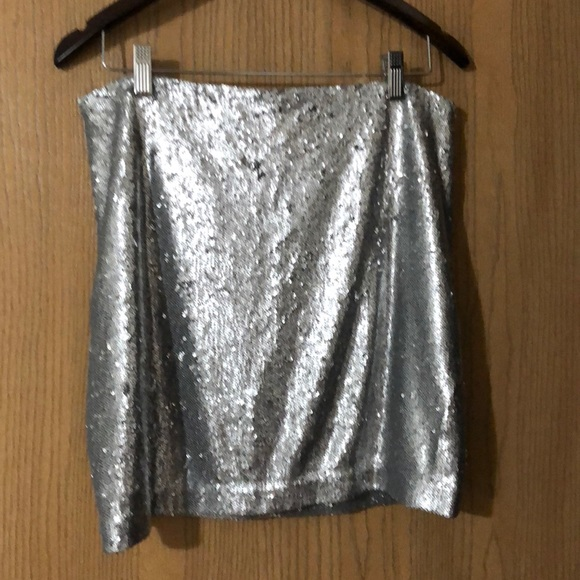 3299496e37d4 White House Black Market Skirts | Sequin Mini Skirt | Poshmark